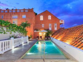 Hotel Boutique Casa del Coliseo, hotel in Cartagena de Indias