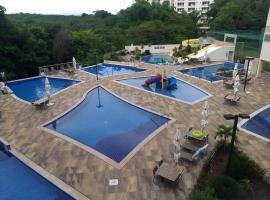 PARK VEREDAS FLAT SERVICE, apartment in Rio Quente