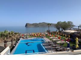 Coral Beach Hotel, serviced apartment in Agia Marina Nea Kydonias