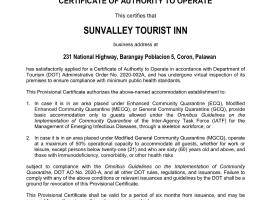SunValley Tourist Inn, B&B in Coron