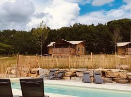 JOINS! Glamping Aquitaine, luxury tent in Saint Agne