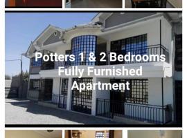 PottersVilla Furnished Apartment, apartment in Nakuru