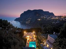 Hotel Villa Brunella, hotel en Capri