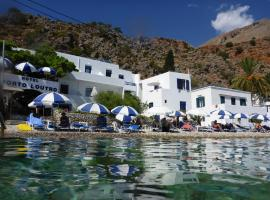 Hotel Porto Loutro on the Beach, hotel near Samaria Gorge, Loutro