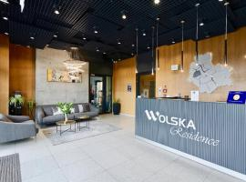 Wolska Residence, apartment in Warsaw