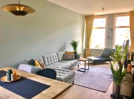 Modern townhouse with garden, holiday home in Haarlem