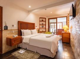 Casa del Balcon, hotel em Baños