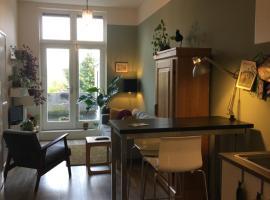 Mooie studio met dakterras & bad., apartment in Groningen