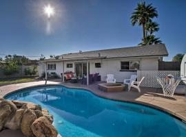Modern, Central Scottsdale Pad Golf and Relax!, vacation rental in Scottsdale