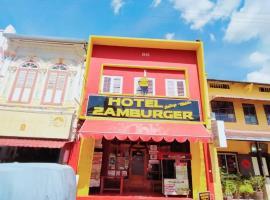 Hotel Zamburger Heritage Melaka (formerly known as Da Som Inn), hotel in Melaka