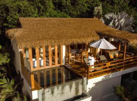 Wild Cottages Luxury and Natural, hotel i nærheden af Bedstefar- og bedstemorstenen, Lamai