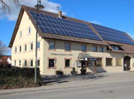 Schwarzer Adler, hotel in zona Aeroporto di Memmingen - FMM,