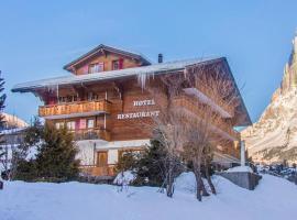 Hotel Gletscherblick, отель в Гриндельвальде
