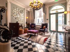 Home Grown Club, hotel near Marylebone Tube Station, London