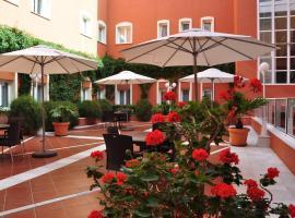 Alborán Chiclana, hotelli kohteessa Chiclana de la Frontera lähellä maamerkkiä Playa La Barrosa -ranta