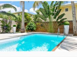 Orient Bay villa, walkable beach, private pool, villa in Orient Bay