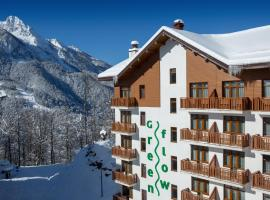 Green Flow Hotel Rosa Khutor, accessible hotel in Estosadok
