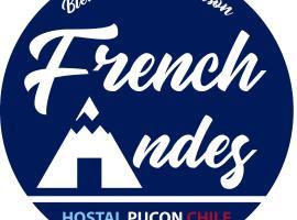 French Andes Apart Hostel, apartamento en Pucón