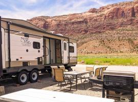 FunStays Glamping Destination RV Site 5, resort village in Moab