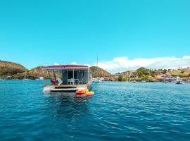 Aqua Lodge, boat in Saint-François