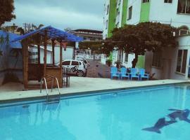 Hotel Mulata Del Pacifico, hotel em Atacames