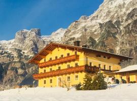 Alpen Appartements Oberlehengut Salzburger Land, Hotel in Werfenweng