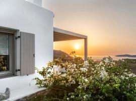 White Tinos Luxury Suites, hotel near Livada Beach, Stení