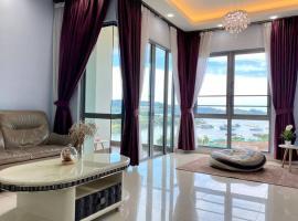 Loft Bay, Imago, Sea view, 3 rooms, apartment in Kota Kinabalu
