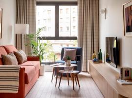 Apartahotel Líbere Vitoria, apartment in Vitoria-Gasteiz