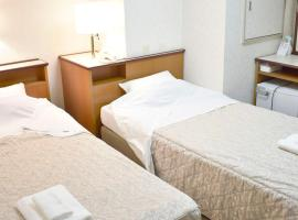Business Ryokan Harada twin bed no smoking / Vacation STAY 22253, отель в Хиросиме