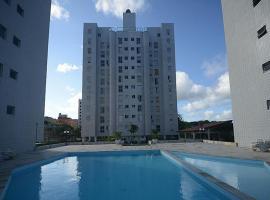 Apto com piscina 1 quarto de até 5 pessoas - Guarujá, hotel que aceita pets em São Paulo