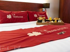 Hotel La Terrasse, hôtel à La Panne