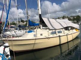 Séjour à bord d'un voilier type studio, boat in Pointe-à-Pitre