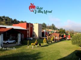 Hotel Villa Moral, hotel v mestu Zacatlán