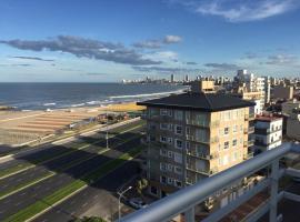 Hermoso departamento frente al mar, departamento en Mar del Plata