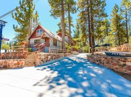 Cottages 6 and 7 Black and Kodiak Bear combined Perfect for Family and Friends, apartment in Big Bear Lake