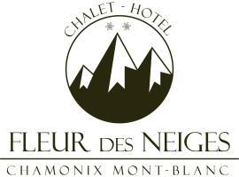Hôtel Fleur Des Neiges, отель в Шамони-Монблан