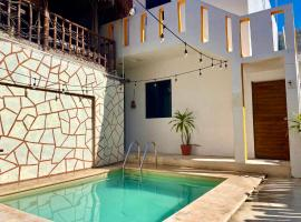 AKBAL Holbox - Beach Zone, hotel in Holbox Island