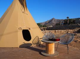 Casa La Paz- Teepee Volcano, glamping site in Tindaya