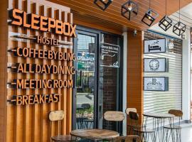Sleepbox Hostel Suratthani, hotel in Suratthani