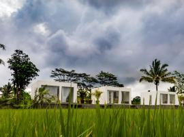Deluxe White Cube, hotel in Ubud