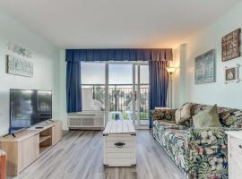 Boardwalk Oceanview Condo, apartment in Myrtle Beach