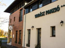 Vadász Panzió és Étterem, hotel in Szombathely