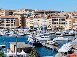Le Phocéen : T4 balcon vue Vieux-Port, hotel with jacuzzis in Marseille
