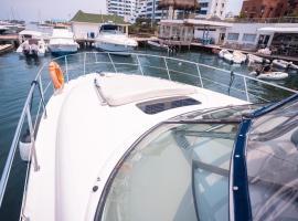 sundancer, boat in Cartagena de Indias