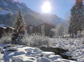 Mountain River appart, Ferienwohnung in Val d'Illiez
