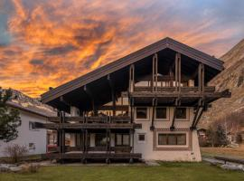 Villa Alpenhof, Hotel in Saas-Almagell