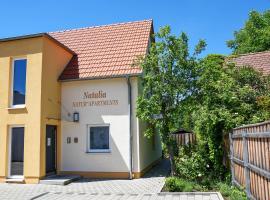 Natur Apartments Natalia, cheap hotel in Fürth