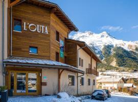 L'Outa Hotel Restaurant, hotel in Termignon