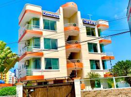 Hotel Kemarios, hotel em Tonsupa